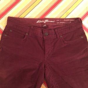 Eddie Bauer Curvy Skinny Stretch Corduroy Jeans